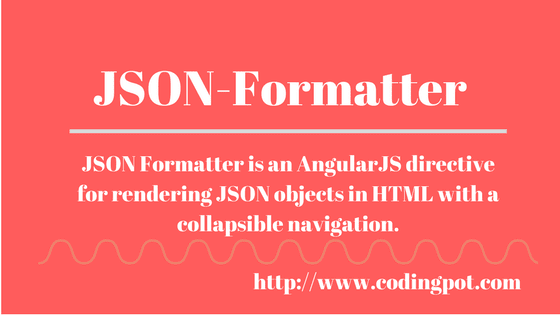 How to render JSON object in HTML using Json-Formatter