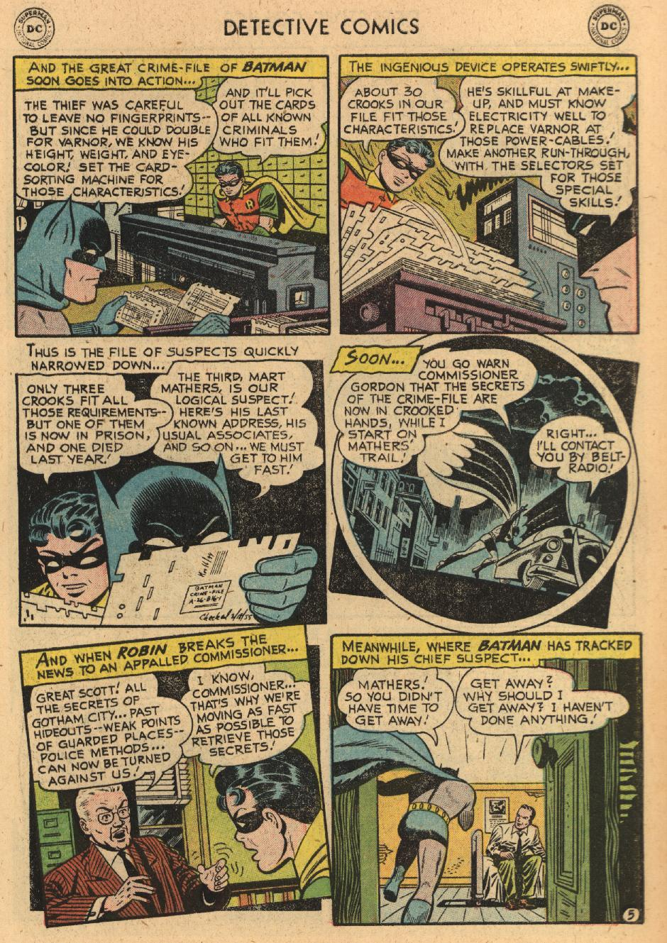 Read online Detective Comics (1937) comic -  Issue #229 - 7