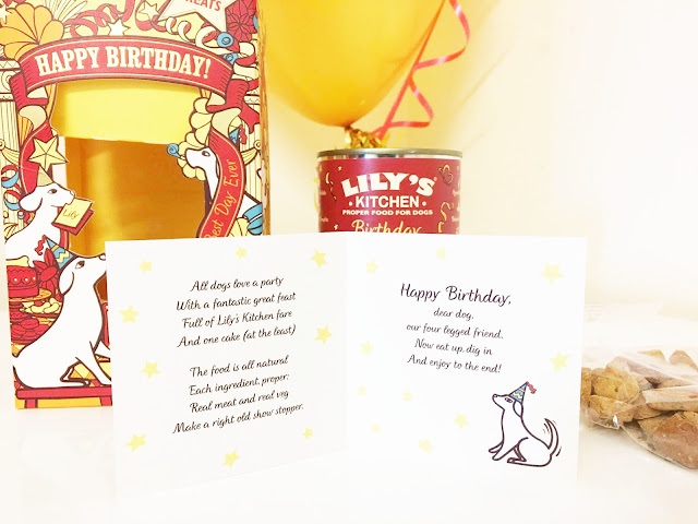 Lily's Kitchen Birthday Surprise Box