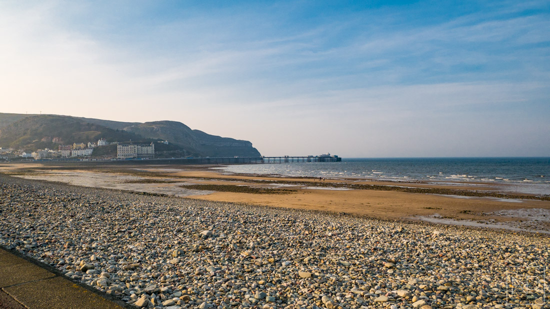 Llandudno sea front and pier