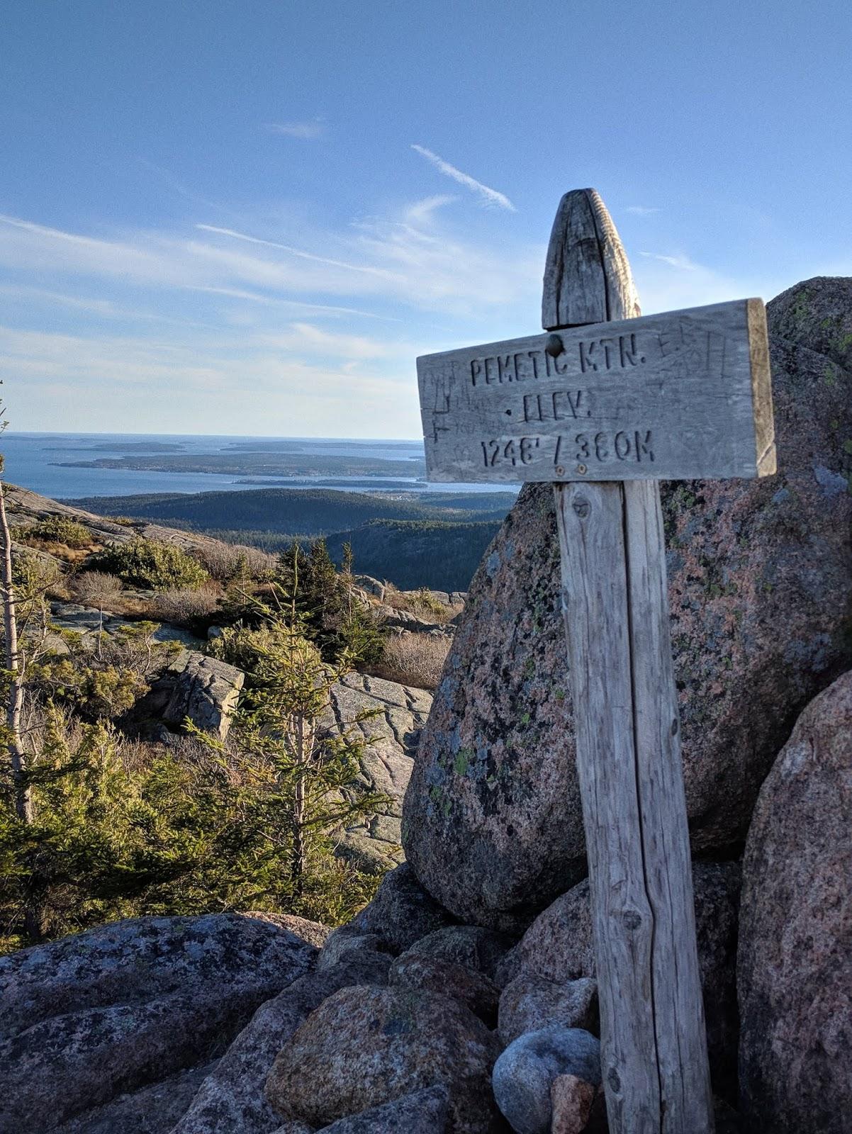 pemetic mountain acadia national park