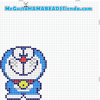 hama beads mini doraemon