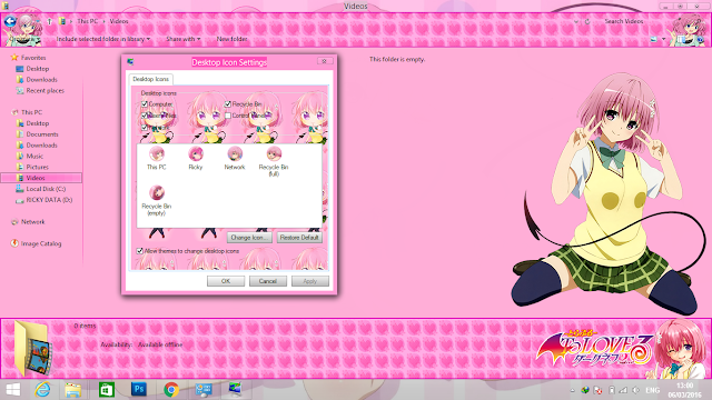 Win 8/10 Theme Momo 5