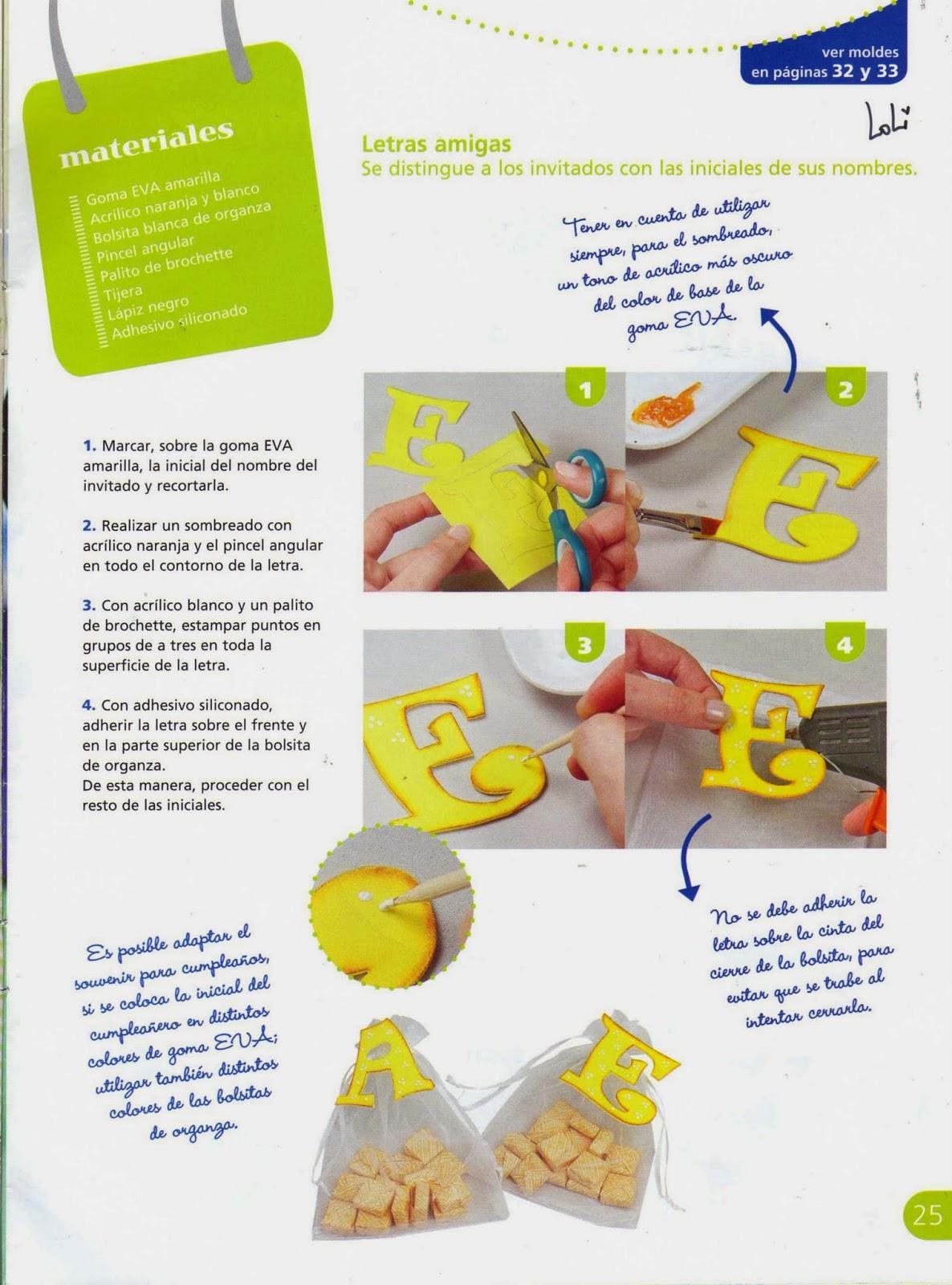 Souvenirs Con Goma Eva Paso A Paso Revistas De Manualidades Gratis