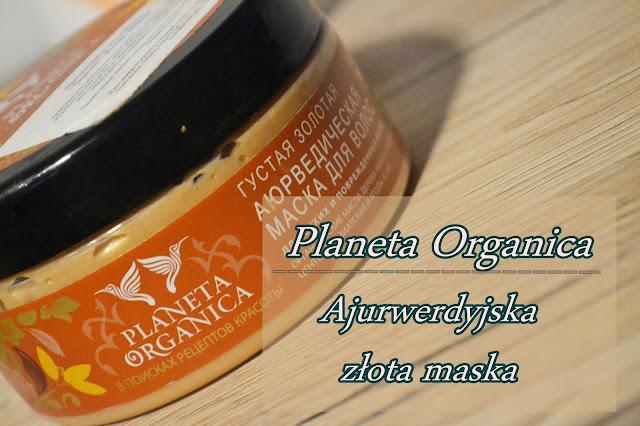 """Planeta Organica, Ajurwedyjska Złota Maska """"Gestość i wzrost włosów"""""""