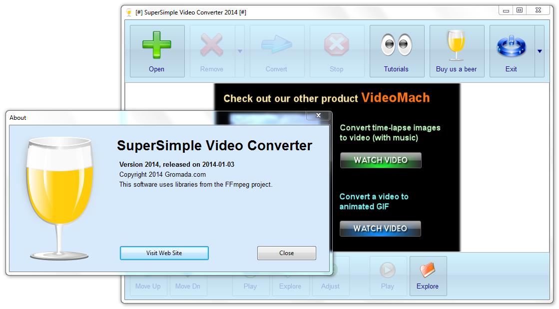 أسهل برنامج لتغيير صيغ الفيديو و بالمجان