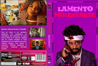 CARATULA - LAMENTO MOLESTARTE - SORRY TO BOTHER YOU - 2018