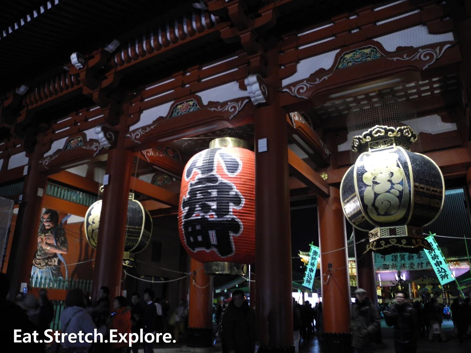 Tokyo - Asakusa] Senso-ji and Asakusa Hatsumode - New Yearu0027s