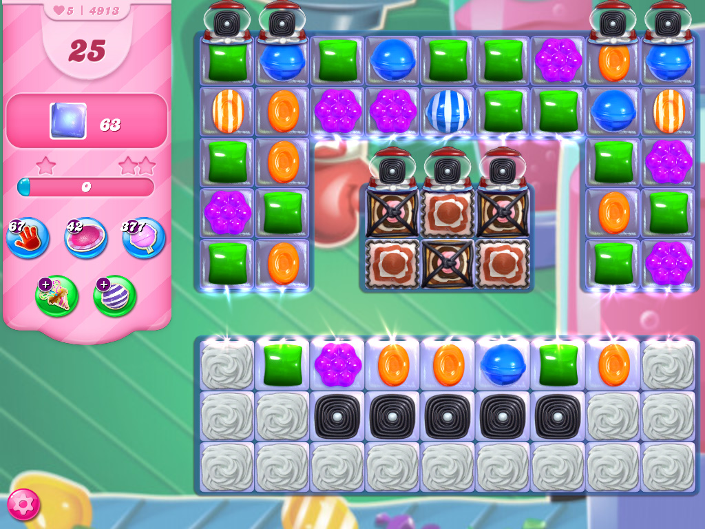 Candy Crush Saga level 4913