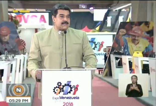 Maduro sobre la Unión Europea: Para mi ellos no existen