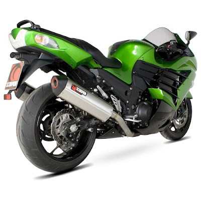 Kawasaki Ninja ZX-14R right side rear image