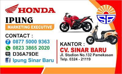 Honda-supra-x-125-helm-In-sinar-baru-pamekasan