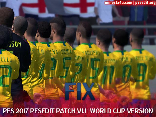 PES 2017 PESEDIT V1.1 PATCH 2018/19 FIX