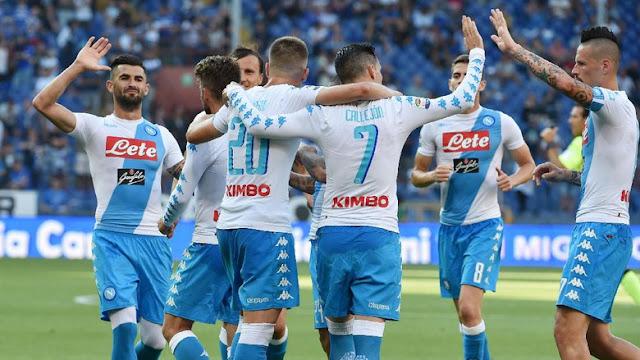 Taklukkan Sampdoria, Napoli Finis di Peringkat Tiga Klasemen Serie A