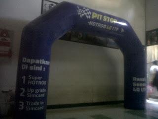 BALON PROMOSI GATE PVC PIT STOP