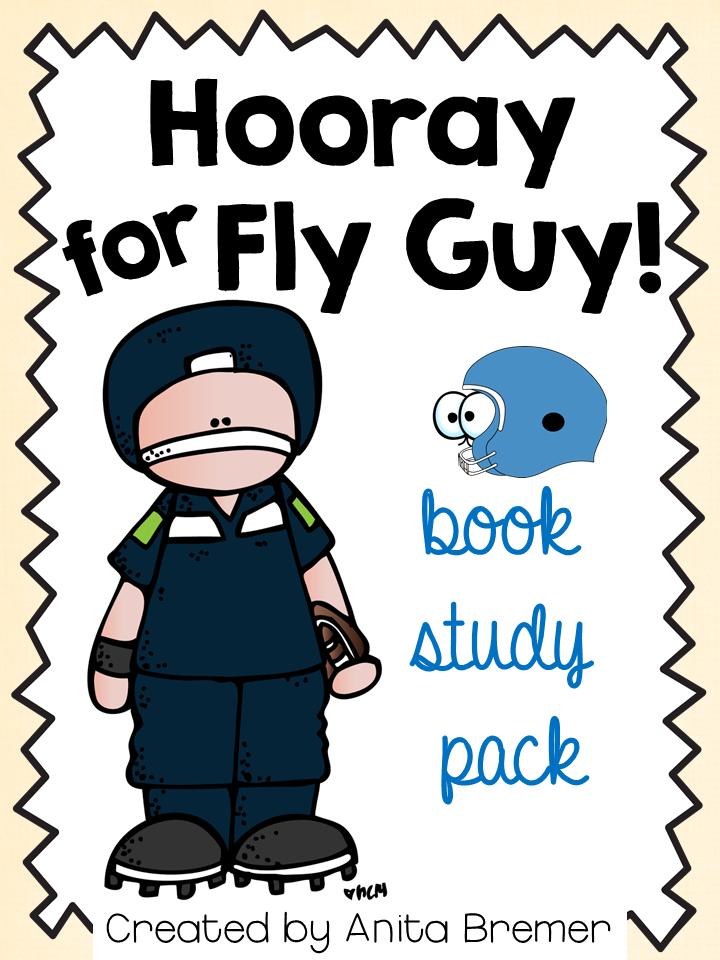 Hooray for Fly Guy! book study companion activities for First Grade and Second Grade