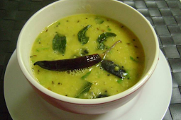 Masoor Dal with South Indian Tadka