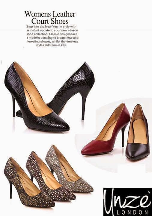 035346ff4610 Stylish and modish court shoes are includes in this footwear collection 2015  for women by Unze.