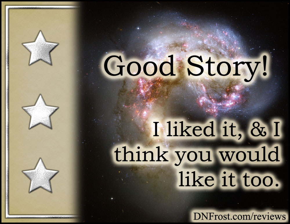 Three Silver Stars, from What are Reviews? An introduction to my take on five star rankings http://www.dnfrost.com/2017/04/what-are-reviews.html An introduction by D.N.Frost @DNFrost13 Part of a series.