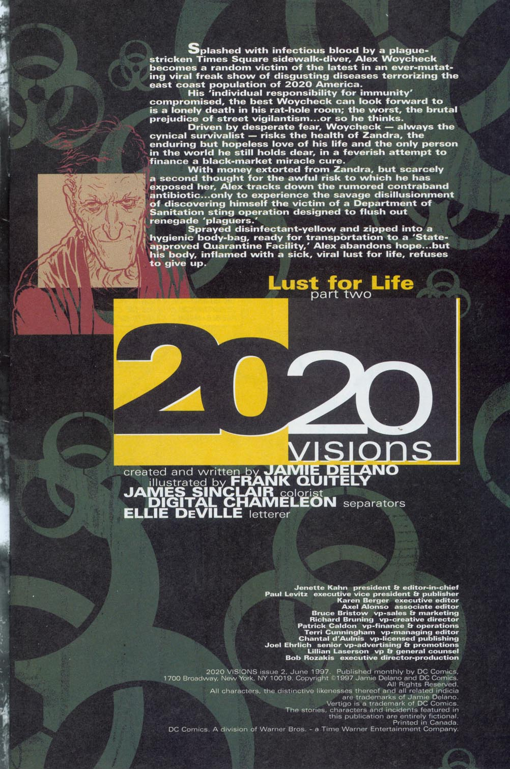 Read online 2020 Visions comic -  Issue #2 - 2