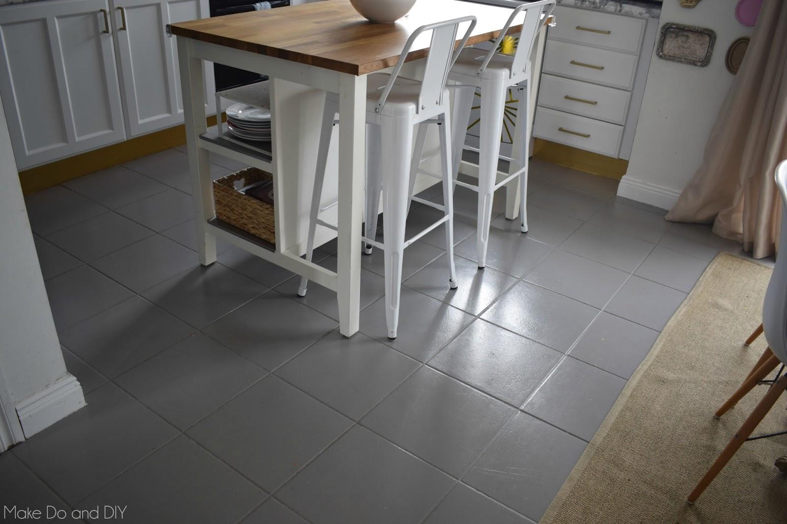 Updating old ceramic tile
