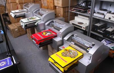 Mesin Digital Untuk Bisnis Print Kaos DTG