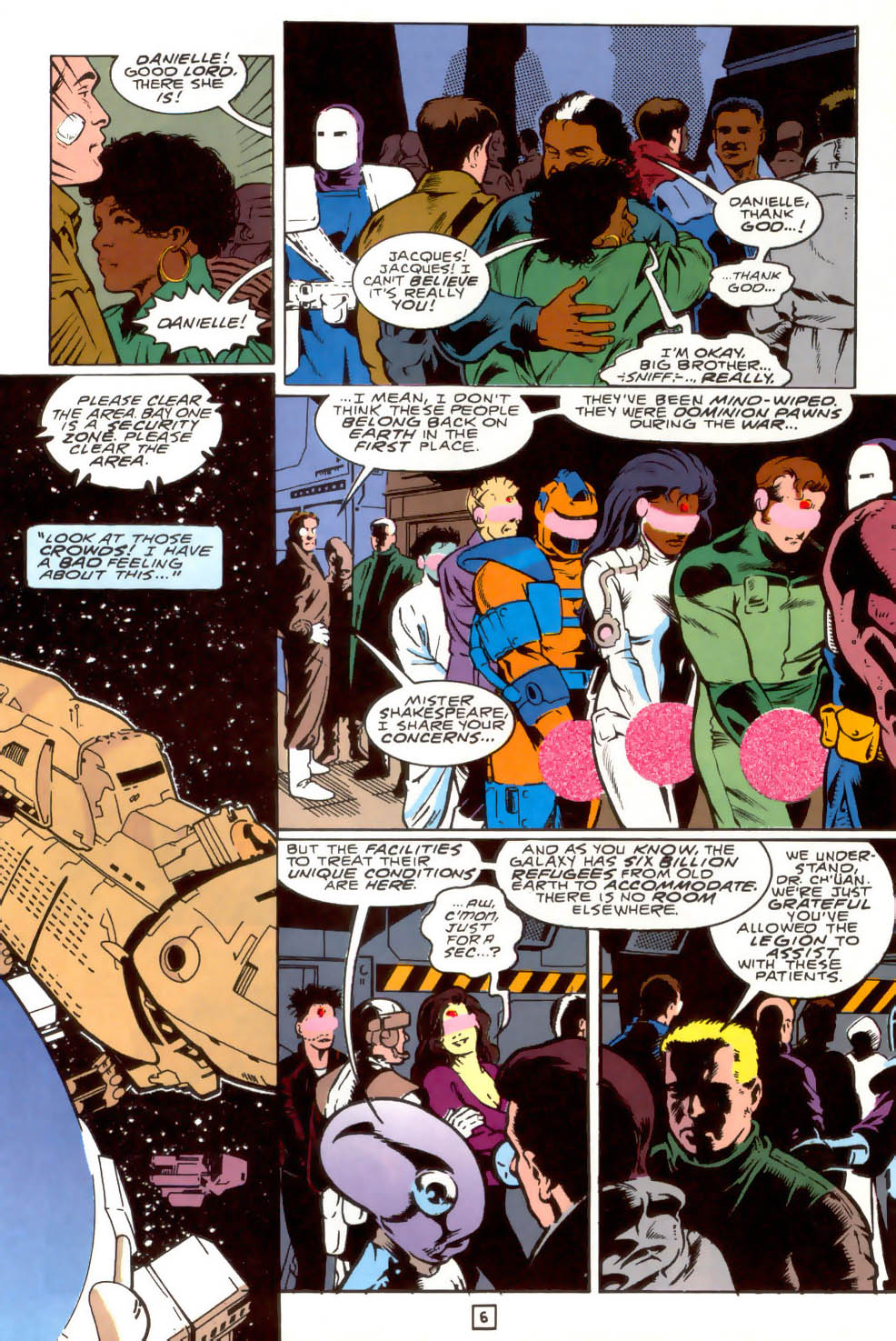 Legion of Super-Heroes (1989) 40 Page 6