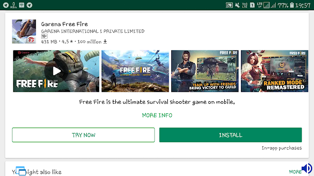 Play Google Play Store Games without Download