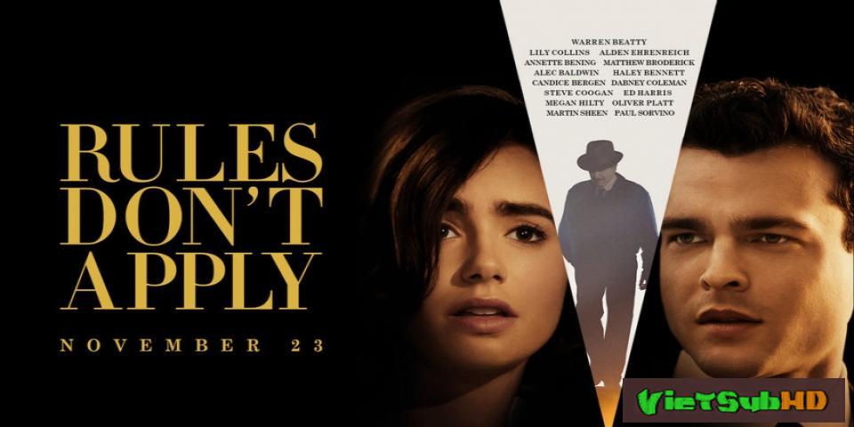 Phim Tình Trường Khói Lửa VietSub HD | Rules Don't Apply 2017
