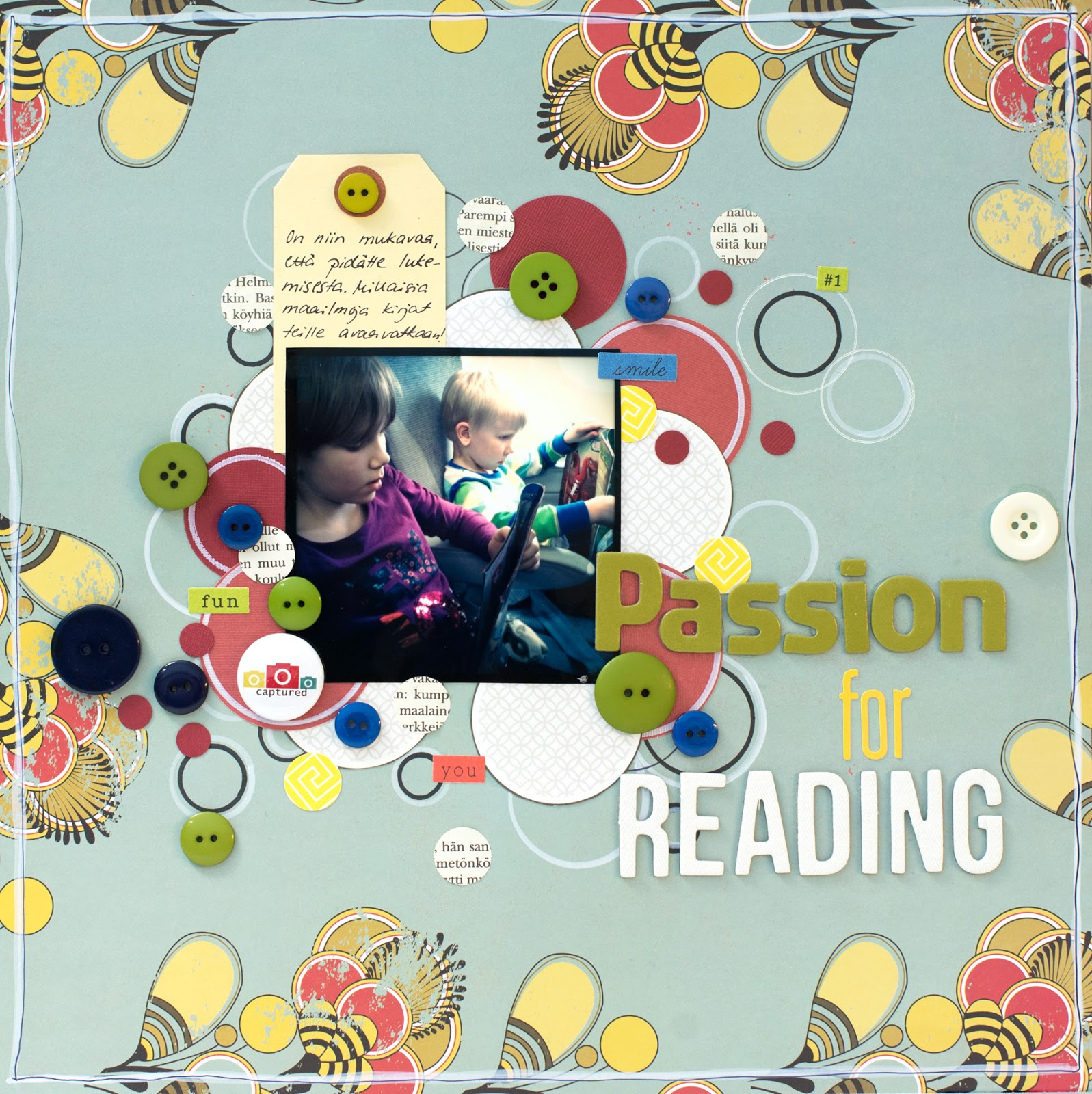 Layout for CSI 109: Passion for Reading