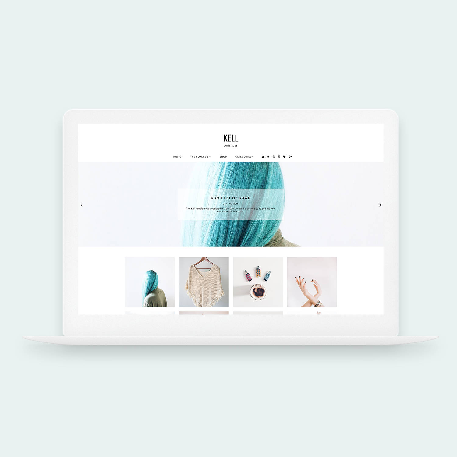 6 Amazing Templates For Your Blog On Etsy The Indy Miss