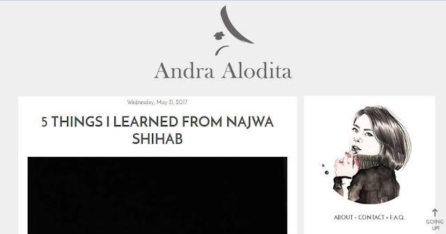 Blog Andra Alodita Alodita.com - Beauty Blogger Indonesia Terbaik