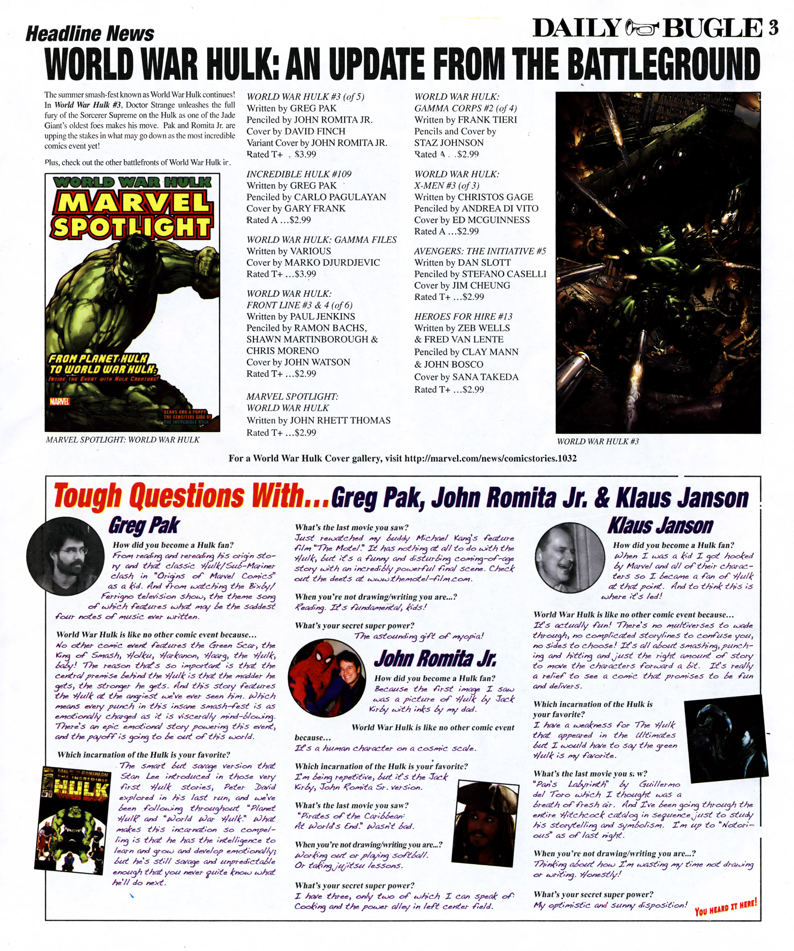 Read online Daily Bugle (2006) comic -  Issue #11 - 4