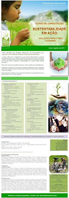 Sustentabilidade em AÇÃO: CURSO