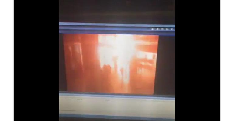 فيديو مروع لحظة وقوع انفجار مطار أتاتورك