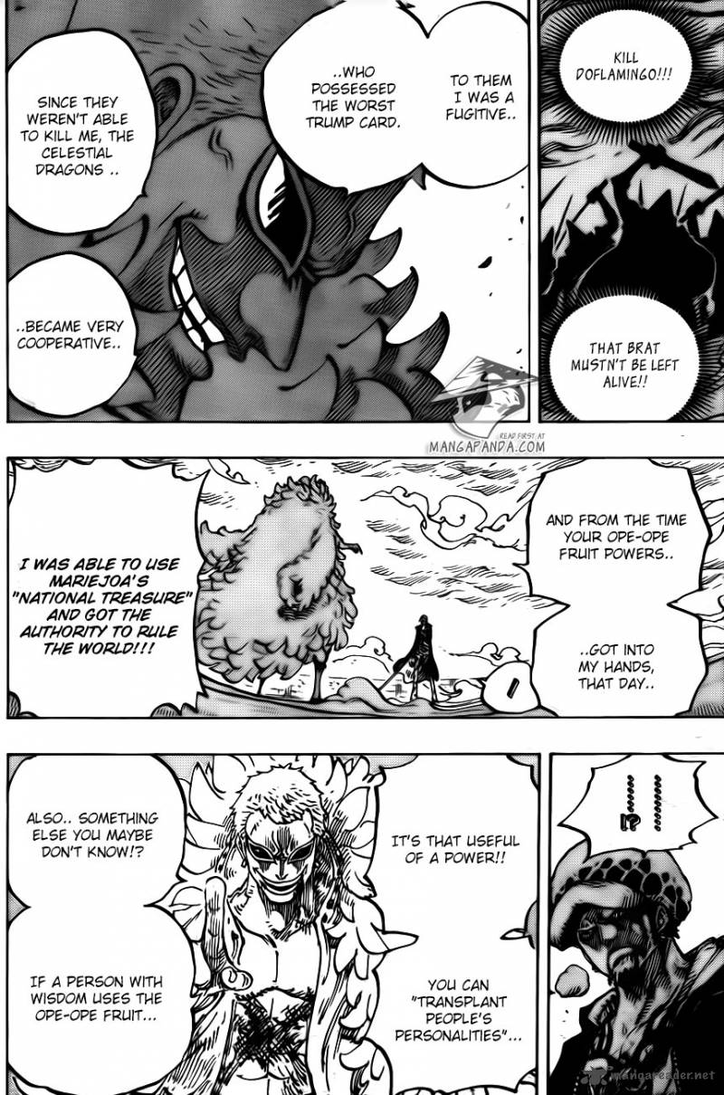 One Piece Ch 761: Ope Ope Fruit