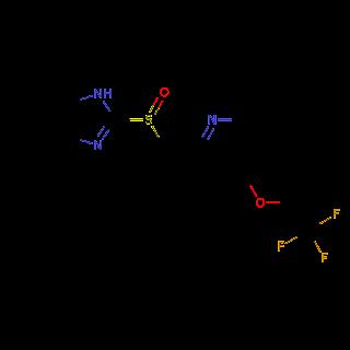 Gambar Struktur Kimia Obat Lansoprazole