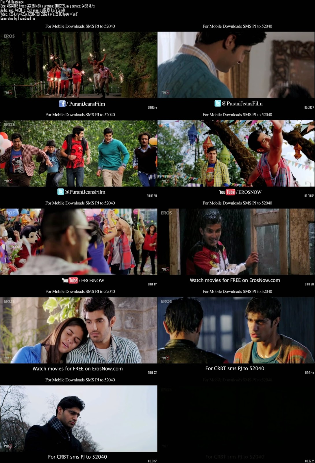 Mediafire Resumable Download Link For Video Song Yeh Dosti - Purani Jeans (2014)