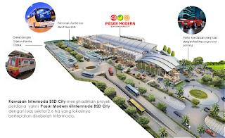 Peluncuran Pasar Modern 2 di Kawasan Intermoda BSD City Sold Out Diserbu Konsumen