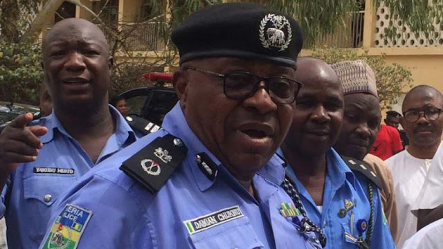 Policemen protest in Maiduguri