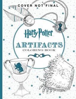 Harry Potter Colouring Book Flipthrough
