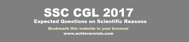 Expected Questions for SSC CGL 2017 - Science and Technology