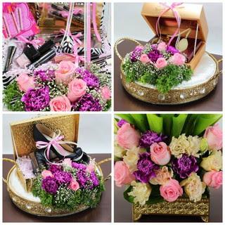 flower tray seserahan - sentra bunga seserahan & sangjit