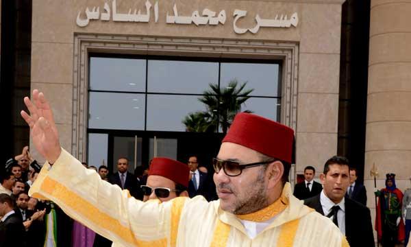 Colère du roi Mohammed VI à cause du retard de certains travaux à Casablanca.