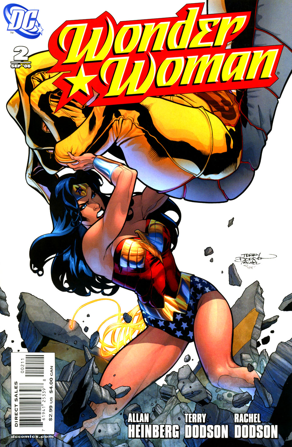 Read online Wonder Woman (2006) comic -  Issue #2 - 1