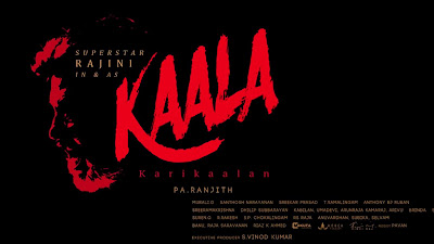 kaala first look poster Images