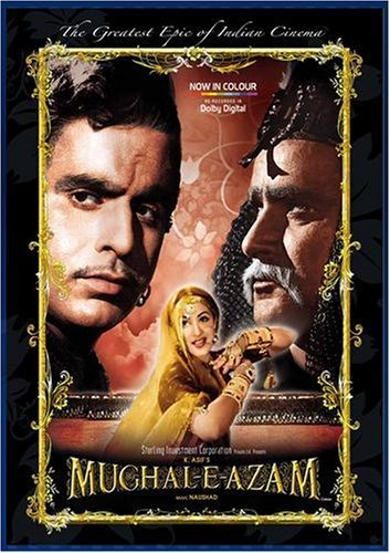 Poster of Mughal-E-Azam 1960 720p Hindi DVDRip Full Movie Download