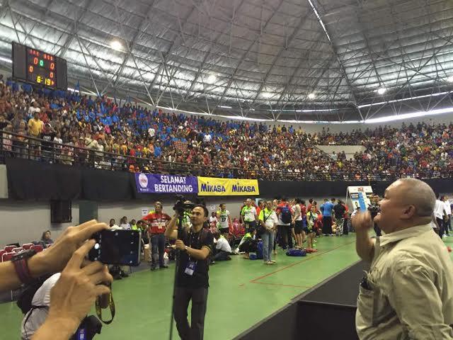 Alex Noerdin Sempatkan Hadir Dukung Tim Palembang Bank SumselBabel