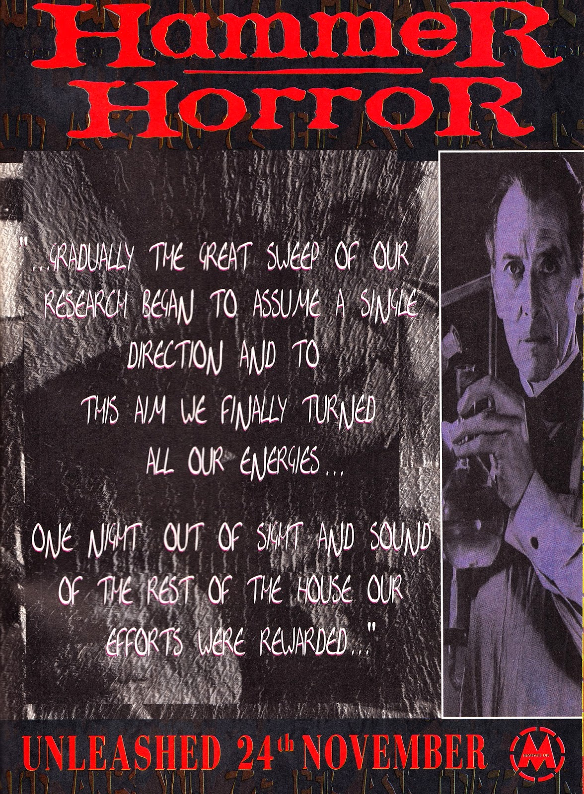STARLOGGED - GEEK MEDIA AGAIN: 1994: HAMMER HORROR House Ad