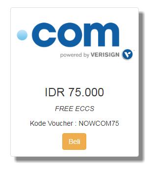 Promo Domain .Com Murah Cuma 75 Ribu di Qwords November 2017